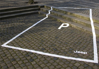 Jeep Parking Ad